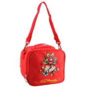 Ed Hardy Shal Eternal Love Lunchbox - Red