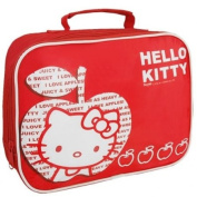 Hello Kitty red suitcase lunch box