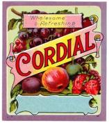 24 Vintage Style Bottle Labels