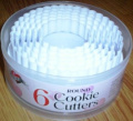 Queen Of Cakes - 6 Cookie Cutters - Round Shaped