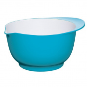 Kitchen Craft Colourworks Melamine Mixing Bowl, 24 cm - Blue