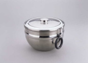 GSD Salad Spinner in Stainless Steel with Pull Cord