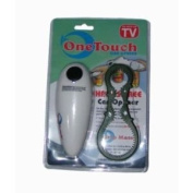 As Seen On TV Automatic Tin Can Opener And FREE Jar & Bottle Wrench - Electronic One Touch Hands Free Operation With Auto Stop Start
