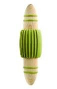 Typhoon Grip-IT Beech Garlic Crusher with Olive Grip Handles