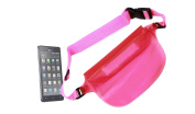 "DURAGADGET ""Travel"" Range Hot Pink Waterproof Dry Bag / Pouch With Adjustable Waist Strap For Fits Fits Fits Fits Fits Fits Fits LG Optimus L5, Optimus 4X HD, Optimus 4X, Fits Fits Fits Fits Fits Fits Fits LG Viewty Smile & Fi"