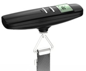 Home Zone - 40kgs Digital Travel Luggage Scales with Handy Strap for Suitcases or Bags - Batteries Included