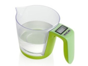 BRANDANI OFFICIAL 3 KG GREEN ELECTRONIC BALANCE WITH AS/ABS GRADUATED CYLINDER DIGITAL SCALE 56644