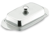 Lacor-62951-BUTTER DISH WITH COVER S/S. 18/10