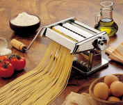 Imperia Titania Manual Italian Pasta Machine with Twin Cutters