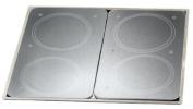 Wenko 2712663100 30 x 4.5 x 52 cm Stove Cover Universal, Crystal