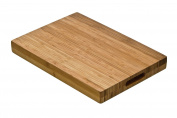 Premier Housewares Bamboo Butchers Chopping Board with Handles