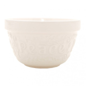 Mason Cash Flour Power S36 Pudding Basin, Cream