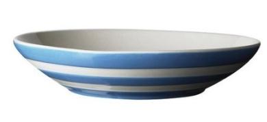 TG Green Cornish Blue Pasta Bowls, 24 cm, set of 2