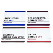 Kitchen Craft My London Coasters, Set of 4