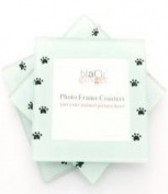 """Paw Print """"Photo Frame Coasters"""", Great gift for an animal lover!"""