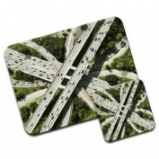Motorway Madness Premium Mousematt & Coaster Set