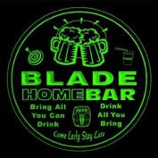 4x ccq03986-g BLADE Family Name Home Bar Pub Beer club Gift 3D Coasters