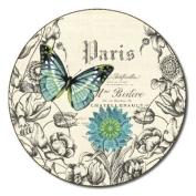 Jason Butterflies Coasters - Set of 6 - Round