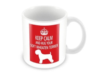 Dog Mug - Keep Calm And Hug Your Soft Wheaten Terrier