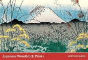 Japanese Woodblock Print Postcard Book