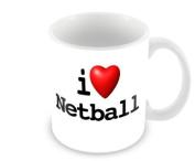 A Sport Mug - I Love Netball