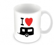 Unbreakable Polymer Mug - I Love My Caravan