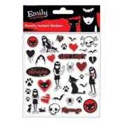 Pyramid International - Emily The Strange set stickers Acetate Pack
