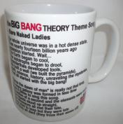 The Big Bang Theory Theme Song Lyrics Ceramic Mug