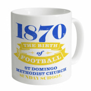 Everton - Birth of Football Mug, White, N/A