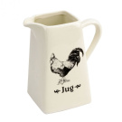 Home Living Kitchen Ceramic Rooster Water Jug by Juliana
