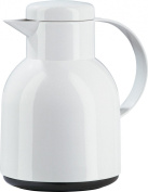 Emsa 661101204 Samba Screw Top closure vacuum jug, 1.0 litres, blue