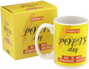 Boxer Gifts Poet's Day Humour Break Mug, 440ml