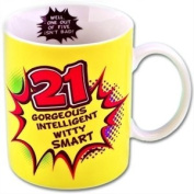 Boxer Gifts Age 21 Inside Out Mug
