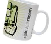 The Big Bang Theory Fist Ceramic Mug