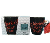 Gift House International Worlds Best Mum Mug and Keyring Set