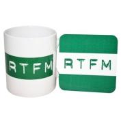 MugBug RTFM Mug and Coaster Set