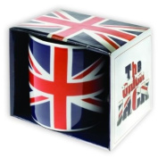 British Union Jack Mug, Red, White & Blue Union Flag