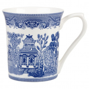 Queens Blue Story Willow Mug, Blue
