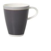 Villeroy & Boch 1035239651 Caffè Club Uni Steam Mug, Grey