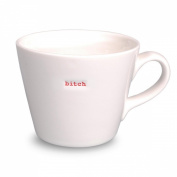 Keith Brymer Jones Word Range Bucket Mug, Bitch