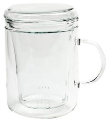 Canton Tea Glass Tea Infuser Mug