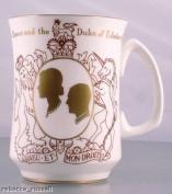 Crown Staffordshire Commemorative Mug Silver Wedding Crown Staffordshire 72