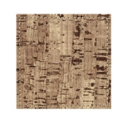 Inspire Faux Leather Faux Cork Effect Coasters, Set of 4