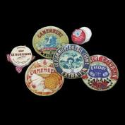 Bia Set of 4 Camembert Plates 20cm