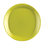 Rachael Ray 58102 Dinnerware, Round and Square 4-Piece Salad Plate Set, Green Apple, 22cm