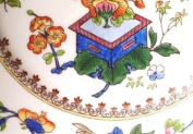 Royal Worcester 651926 Chinoiserie 24cm Soup Plate