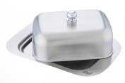Shef Stainless Steel Butter Dish with Lid