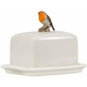 Quail Ceramics - Robin Figure Butter Dish