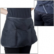 Ecloud Shop Restaurant Waiter Waitress Waist Style Apron 3 Pocket