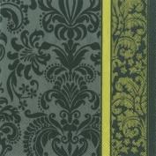 IHR Velvet grey napkins sumptuous luxury paper napkins new 51cm pack